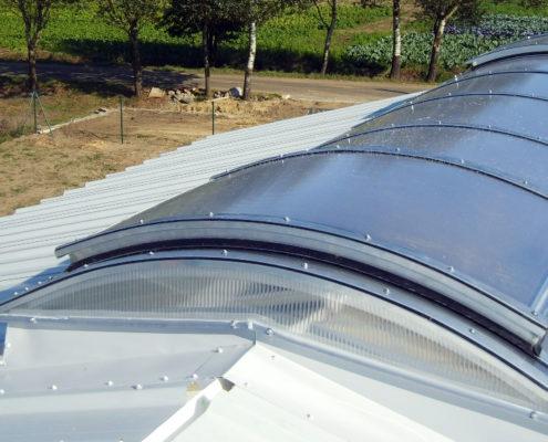 Stolarka okienna - świetliki dachowe