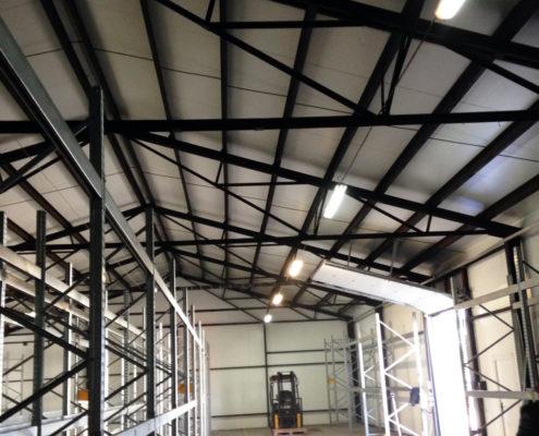 hala stalowa - konstrukcja stalowa