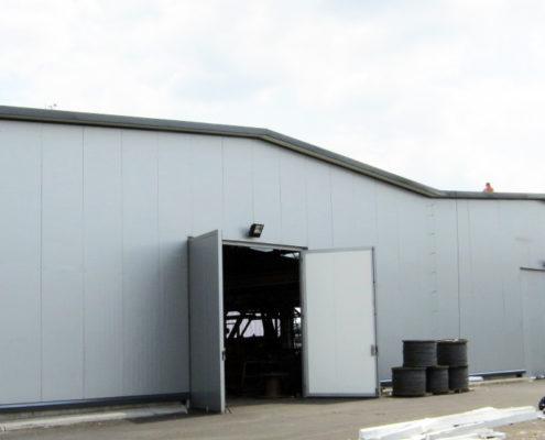 Termomodernizacja hali produkcyjnej